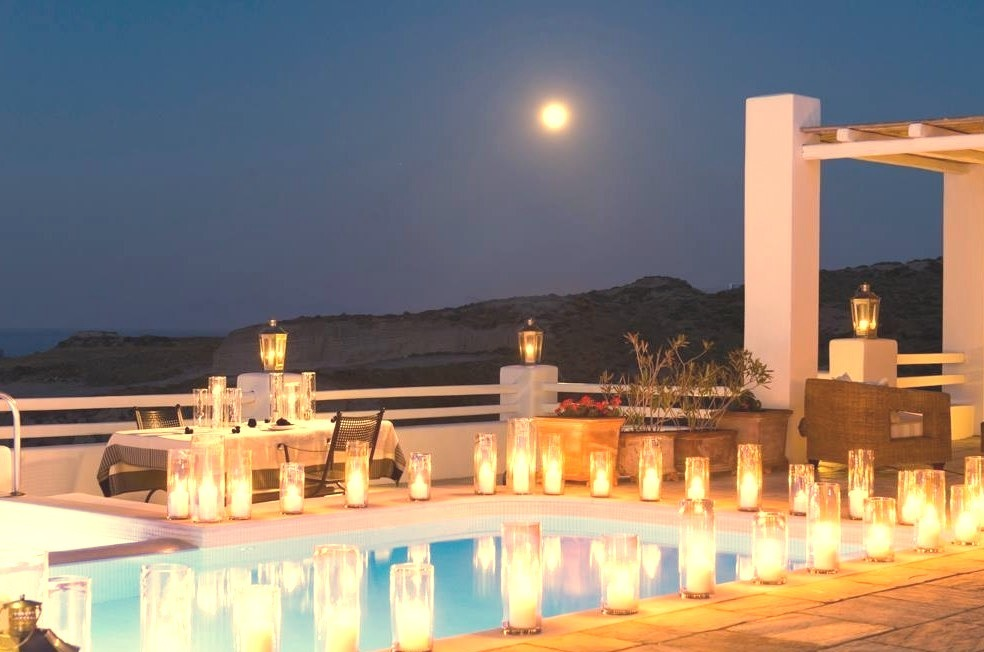 Greece, Landscape, Travel, Villas, Santorini
