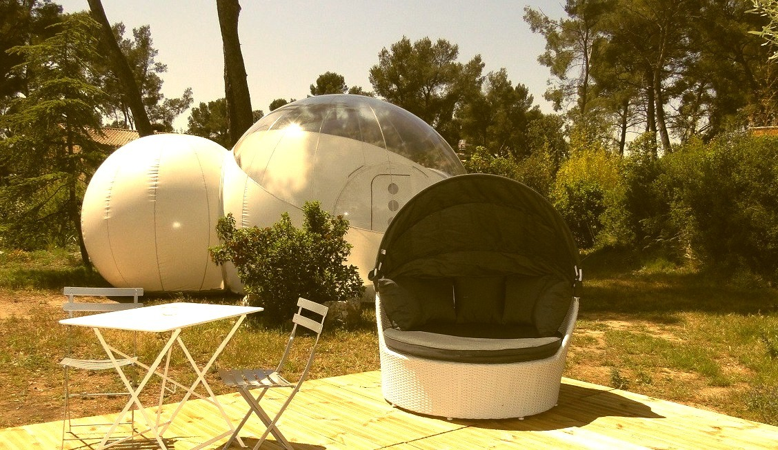 Attrap'Rêves - Allauch, France - Sleep in a Bubble