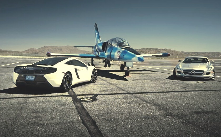 Sports Cars and Private Jets