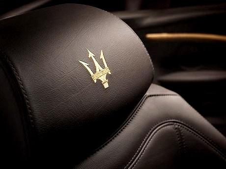 Maserati Stitched SeatLAVISH LIFE APPAREL NOW AVAILABLE