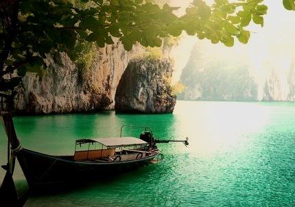 Boat, Vacation, Azure Blue, Ocean, Beautiful